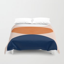 Abstraction_Balance_Minimalism_001 Duvet Cover
