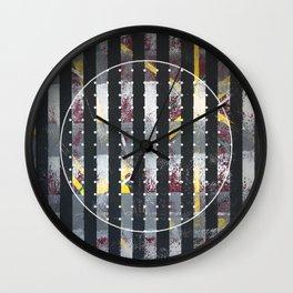 Polarized - dot circle graphic Wall Clock