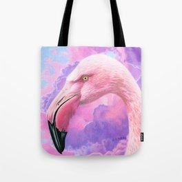 Think Pink Flamingo Tote Bag