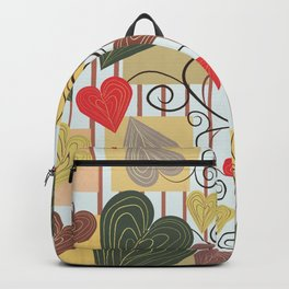 Hearts on Vines Backpack