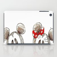 minnie mouse iPad Cases featuring Mickey and Minnie Mouse.  by Christa Morgan ☽