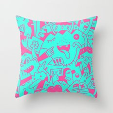 The Disconsolate Factory of Charles Grebbum Throw Pillow