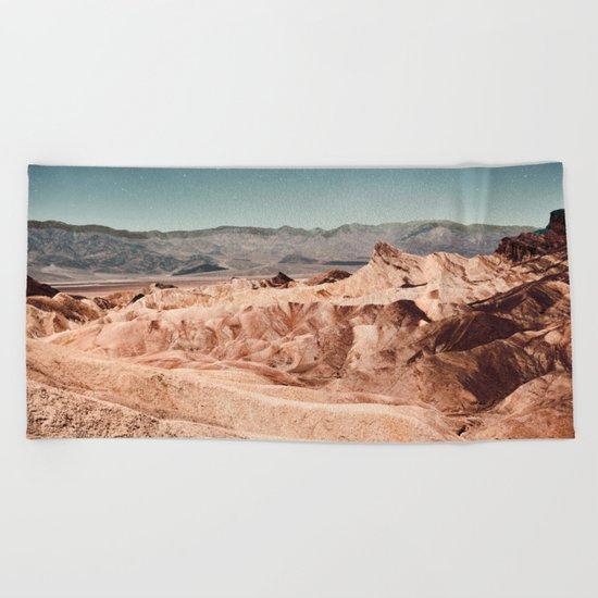 Desert Cliffs Beach Towel