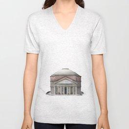 Pantheon, Rome Unisex V-Neck