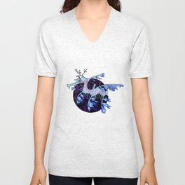 Sea Dragon Unisex V-Neck