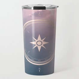 The Edge of Tomorrow - Rosegold Compass Travel Mug