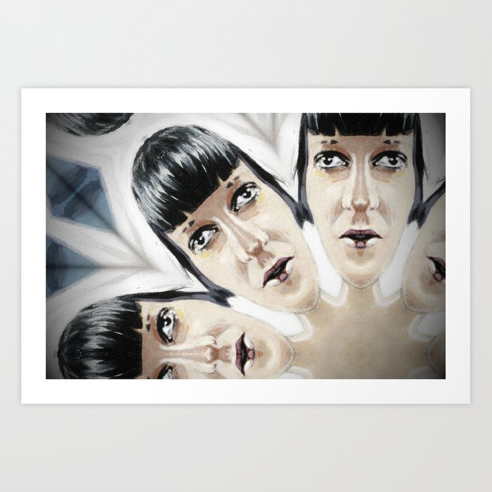 Kaleidoscope P10 Art Print