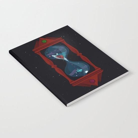 Cosmic Hourglass Notebook