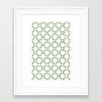romantic Framed Art Prints featuring Romantic by Yasmina Baggili