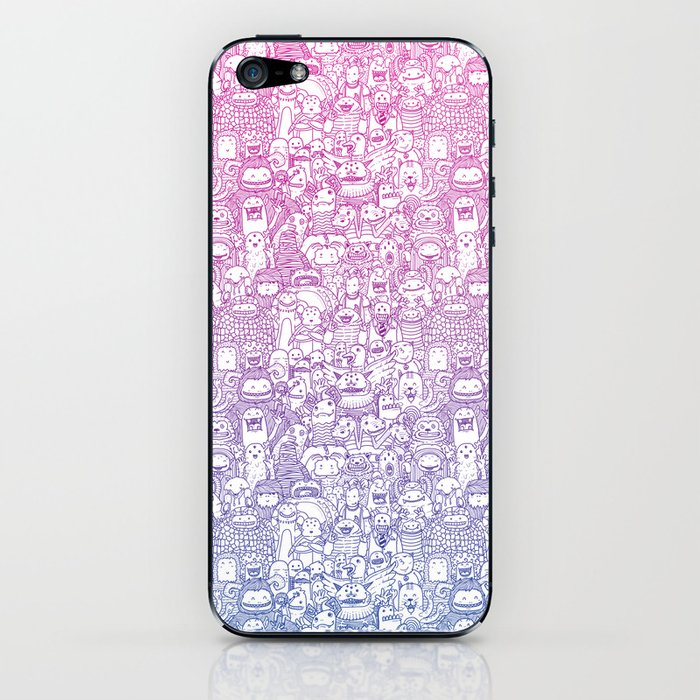 Curly & The Monster Factory iPhone Skin