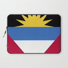 Antigua and Barbada Laptop Sleeve
