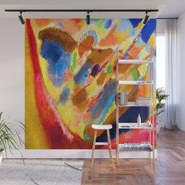 Wassily Kandinsky Three Spots Wall Mural