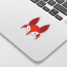 The Red Fox Sticker