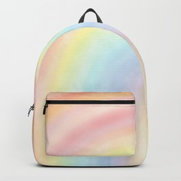 Rainbow Gradient - positive vibes - Everything's Gonna Be Alright Backpack