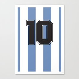 Maradona 1986 Canvas Print
