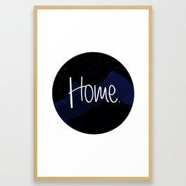 Billon star home Framed Art Print