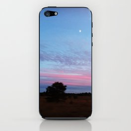 Blueberry Sky iPhone Skin
