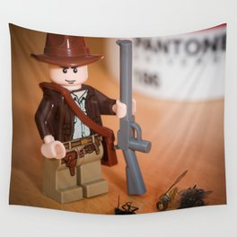 Indy Flies Hunter Wall Tapestry