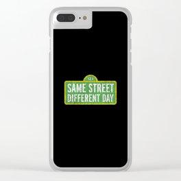 Sesame street Clear iPhone Case