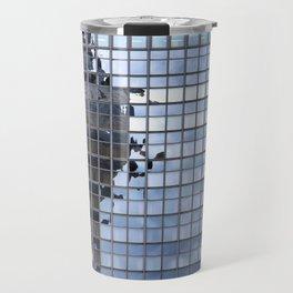Pixelated... Travel Mug