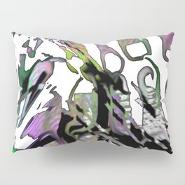 Distortion of the line Pillow Sham