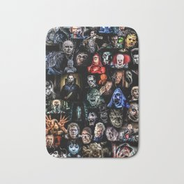 Legends of Horror print Bath Mat