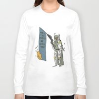 boba Long Sleeve T-shirts featuring Boba by Lewis Farrow