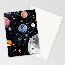 Cosmic world Stationery Cards