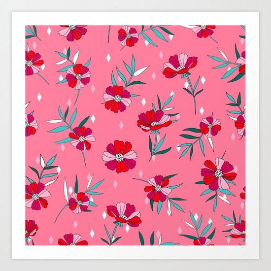 Pink Summer Art Print