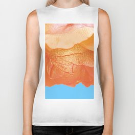 Flower Abstract 15 Biker Tank