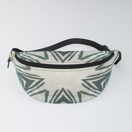 pointed green texture Fanny Pack