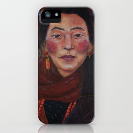 Nepalese Woman iPhone Case