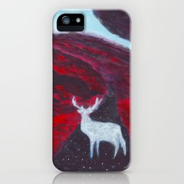 White Deer iPhone Case