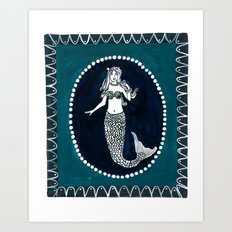 Sand & Sea Collection Art Print