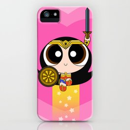 Wonder girl iPhone Case