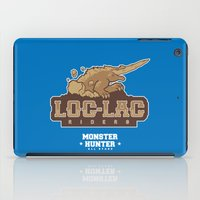 monster hunter iPad Cases featuring Monster Hunter All Stars - Loc-Lac Riders by Bleached ink