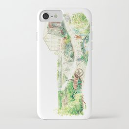 Literary Garden for Rabbits iPhone Case