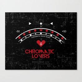 Chromatic Lovers Canvas Print