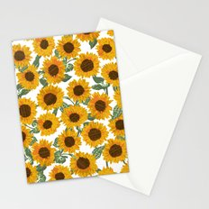 SUNNY DAYS -sunflowers- Stationery Cards