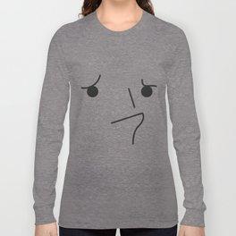 Sad Puppy Face Long Sleeve T-shirt