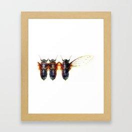 Fresh Wings Framed Art Print
