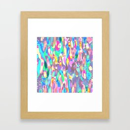 Worm Psychedelia Framed Art Print
