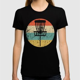 Retro Disc Golf Icon T-shirt