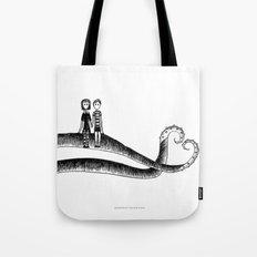 Addams ❤️ Gorey Tote Bag