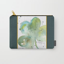 St. Patty's Day Clover Carry-All Pouch
