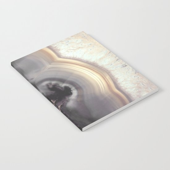 Taupe Agate Notebook