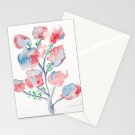 21  | Loose Watercolor Flower | 191015 Stationery Cards
