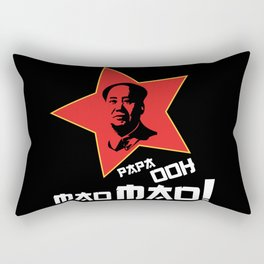 Papa Ooh Mao Mao! Rectangular Pillow