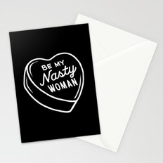 Nasty Woman Valentine Stationery Cards