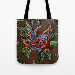 Sparrow Rose One Remix Tote Bag